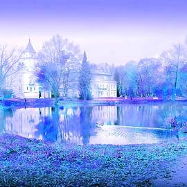 White Palace and Blue Garden