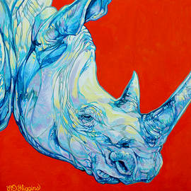 White Rhino by Derrick Higgins