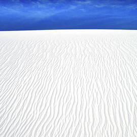 White Sands, Blue Sky by Douglas Taylor