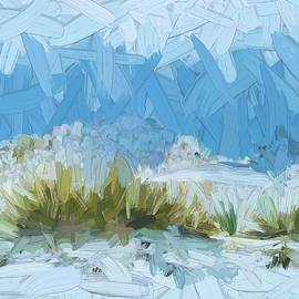 White Sands New Mexico Abstract by Tatiana Travelways