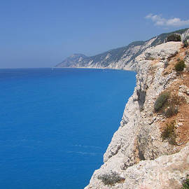White Throne over the Blue Ionian by Clay Cofer