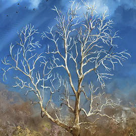 White Tree Blue Sky by Lois Bryan