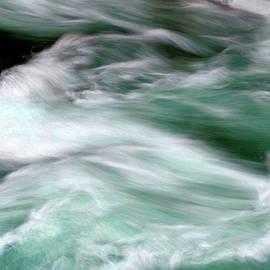 White Water, Hamma Hamma River by Douglas Taylor