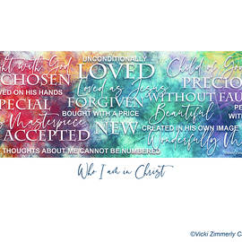 Who I Am in Christ by Vicki Zimmerly Carson