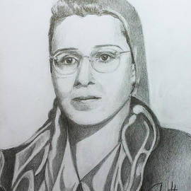 Widad Sakakini by Mohammad Hayssam Kattaa