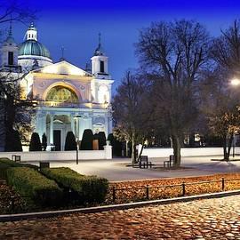 Wilanow Church of St. Anna #2, Warsaw by Slawek Aniol