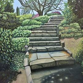 Wilcox Park Steps by Nathan Katz