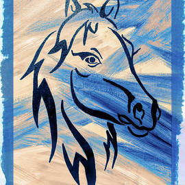 Wild About Blue by Janice Pariza