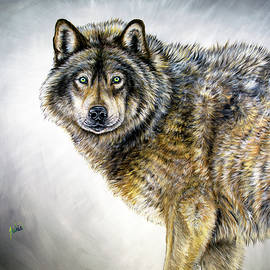 Wild Eyes by Teshia Art
