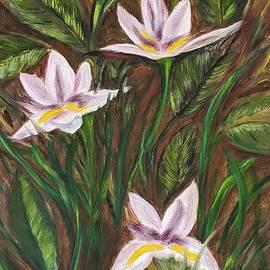 Wild Irises by Judy Jones