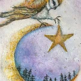Wild Moon Owl  by Sharon May Nicol