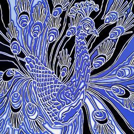 Wild Peacock by Mario Carini