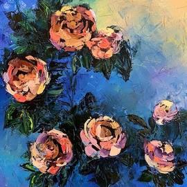 Wild roses  by Yuliia Stelmakh