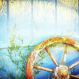 Wild West backyard art by Tatiana Travelways