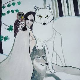 Wild Woman in Winter  by Vale Anoa'i