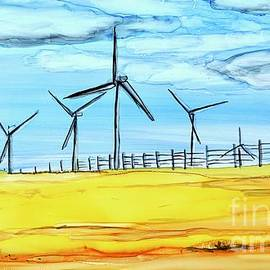 Wind Farm Horizontal  by Patty Donoghue