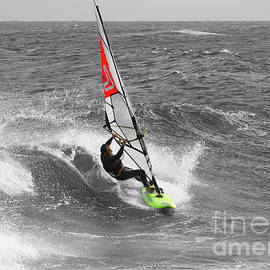 Wind Surfer by Terry Cooper LRPS