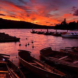 Windermere Sunset by Maggie Mccall