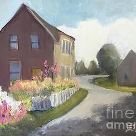 Winding road by Leslie Dobbins