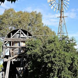 Windmill and water tank by Kerry LeBoutillier