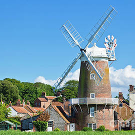 Windmill at Cley next the Sea, Norfolk, England by Neale And Judith Clark