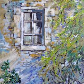 Window In An Old Tower by Cathy MONNIER