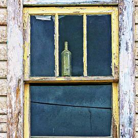 Window with a bottle Newfoundland by Tatiana Travelways