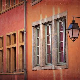 Windows of La Croix Rousse Lyon France