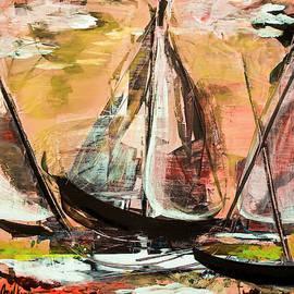 Windy Sail by Janal Koenig