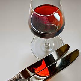 Wine and Knives by Joe Bonita