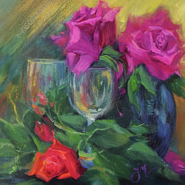 Wine and Roses by Jeri McDonald