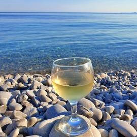 Wine on the Rocks by Andrea Whitaker