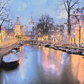 Winter Amsterdam by Alex Mir