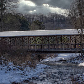 Winter at the Old Bridge by Mike Griffiths