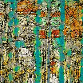 Winter bare trees abstract by Tatiana Travelways