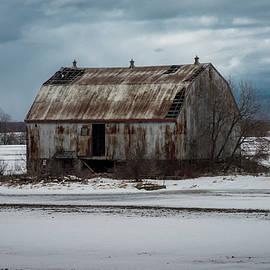 Winter Barn by David Hook