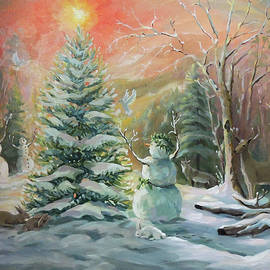 Winter Celebration by Nancy Griswold