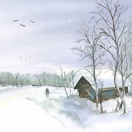 Winter cram by Hiroko Stumpf