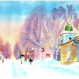 Winter day in Lappeenranta by Tatiana Bushmanova