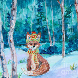 Winter Fox by Li Newton