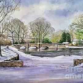 Winter in Ashford Derbyshire 2 by Andrew Read