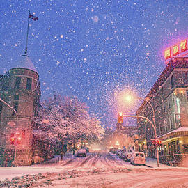 Winter in Nelson by Joy McAdams