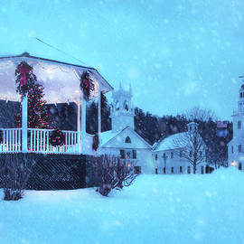 Winter in New England - New Hampshire by Joann Vitali