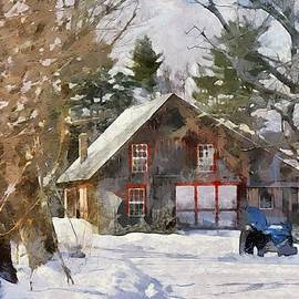 Winter in New England by Tricia Marchlik