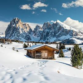 Winter in the Dolomites, South Tyrol, Italy by Stefano Politi Markovina