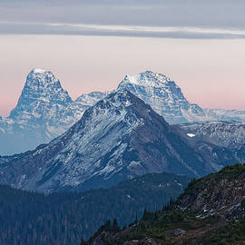 Winter in the Mountains by Rick Ulmer