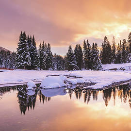 Winter in Yellowstone by Matthew Alberts