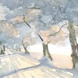 Winter Light by Hiroko Stumpf