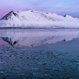 Winter Mirror by Steve Luther