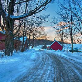 Winter Morning on the Farm by Joann Vitali